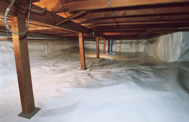 Crawl Space Vapor Barrier Arkansas