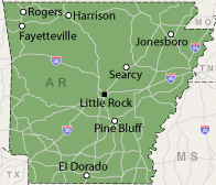 Our Arkansas Service Area